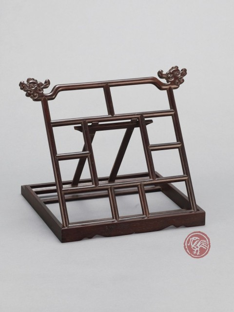 RED SANDALWOOD(ZITAN) BOOK STAND