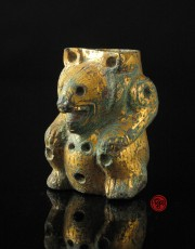 gilt bronze bear