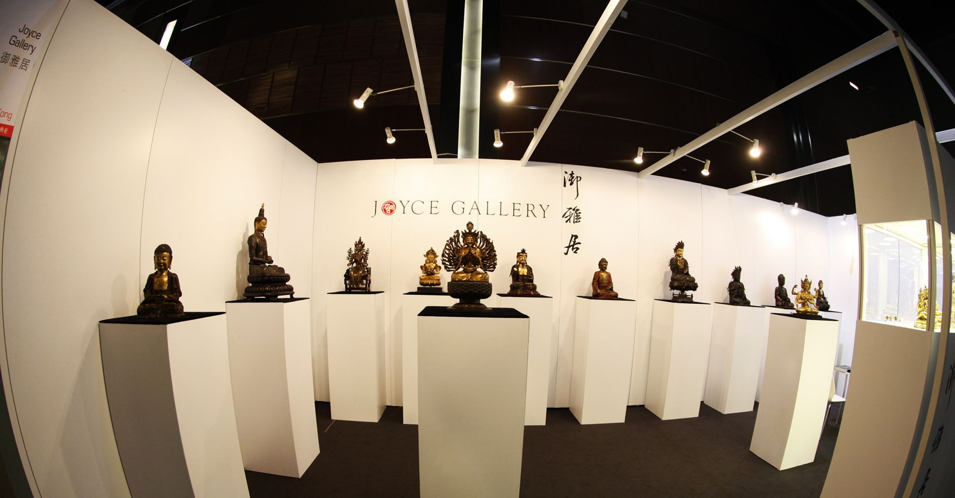 Selected Gilt Bronze Buddha Exhibition