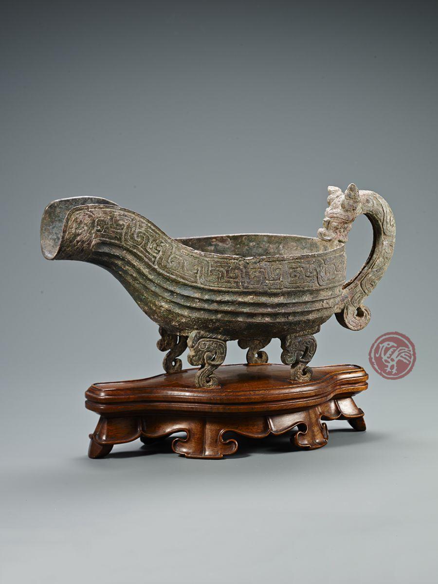 Vintage Brass Urn With Feet. Brass Pedestal Cup. Brass Urn